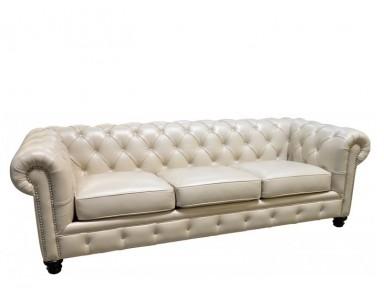 Steele Leather Sofa & Set