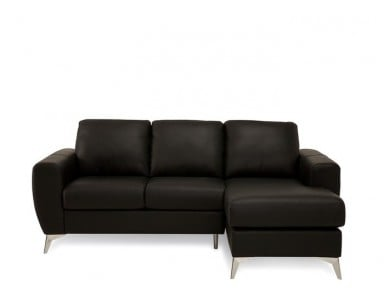Angel Leather Sectional