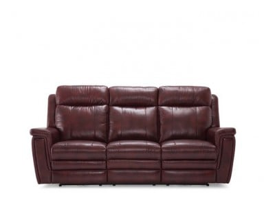 Ashley Leather Power Reclining Sofa & Set With Adjustable Headrest