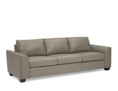 Dove Leather Sofa & Set