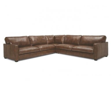 Tally Leather Sectional