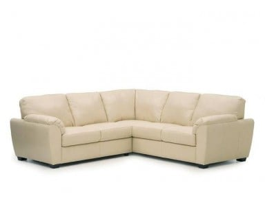 Laramey Leather Sectional