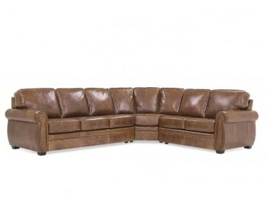 Lisben Leather Sectional