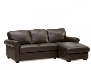 Tomas Leather Sectional