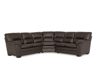 Tracer Leather Sectional