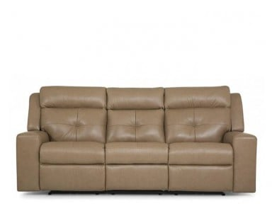 Trundle Leather Reclining Sofa & Set