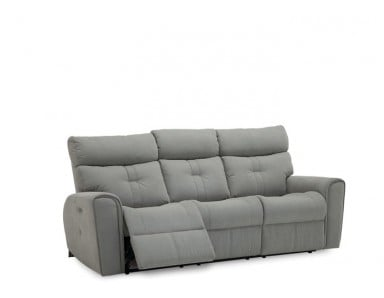Palliser Acacia Leather Power Reclining Sofa & Set Adjustable Headrest