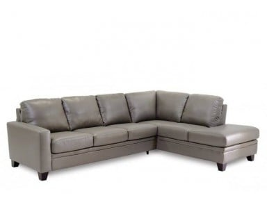 Palliser Creighton Leather Sectional
