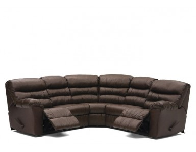 Palliser Durant Leather Reclining Sectional