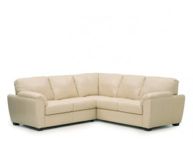 Palliser Lanza Leather Sectional