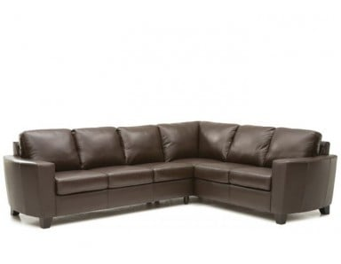 Palliser Leeds Leather Sectional