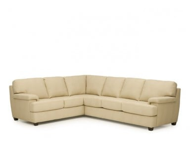 Palliser Morehouse Leather Sectional