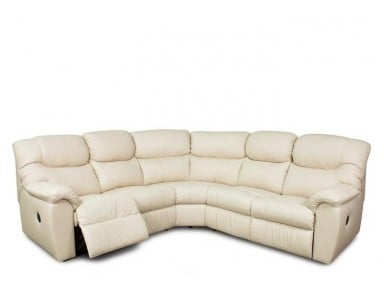 Palliser Regent Leather Reclining Sectional