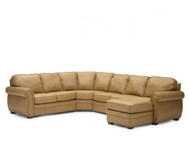 Palliser Viceroy Leather Sectional