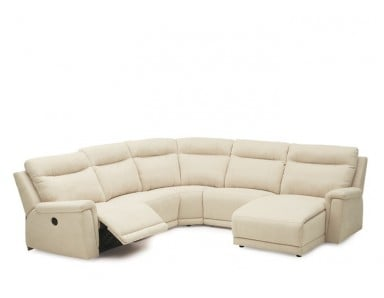 Palliser Westpoint Leather Reclining Sectional