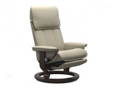 Stressless (Large) Admiral Power Reclining Chair (Comfort Base)