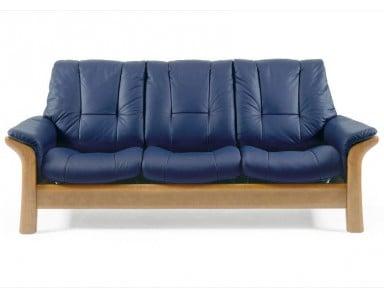 Stressless Windsor Low-Back Leather Sofa & Set