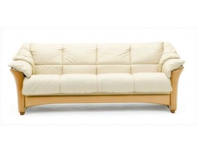 Ekornes Oslo Wood Trim Leather Sofa & Set