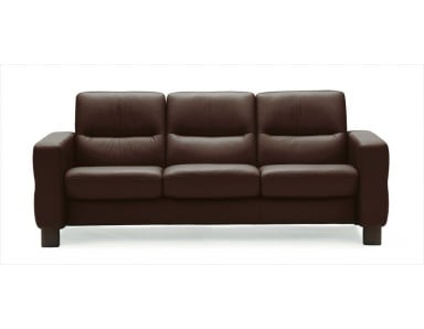 Stressless Wave Low-Back Leather Sofa & Sectional