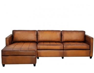 Nile Leather Sectional & Sofa or Set