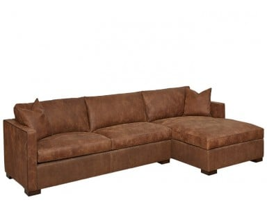 Seine Leather Sectional