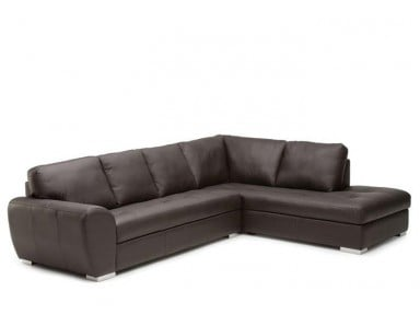 King Cove Leather Sectional