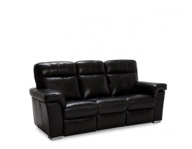Bethel Power Reclining Leather Sofa or Set - Available With Power Tilt Headrest