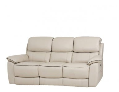 Crowley Power Reclining Leather Sofa or Set With Power Tilt Headrest