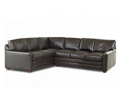Alexandria Leather Sectional