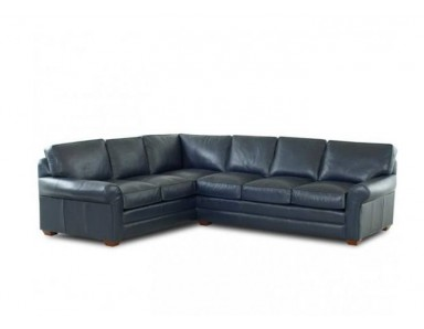 Dover Leather Sectional