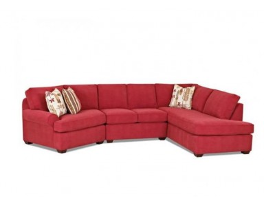 Dover (T Cushion) Leather Sectional