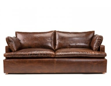 Strata Cloud Oversized Seating Leather Sofa or Set