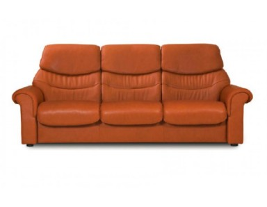 Stressless Liberty High-Back Leather Sofa & Sectional