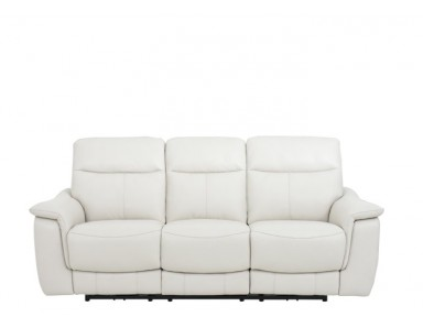 Jaeger Leather Power Reclining Sofa Set