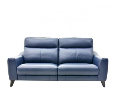 Lamium Power Reclining Leather Sofa
