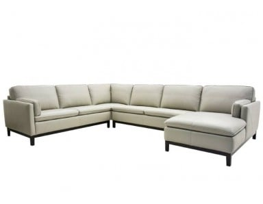 Noddy Leather Sectional