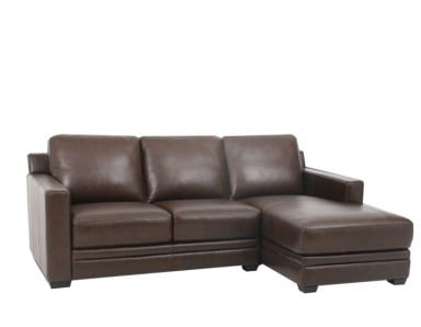 Widgeon Leather Sectional