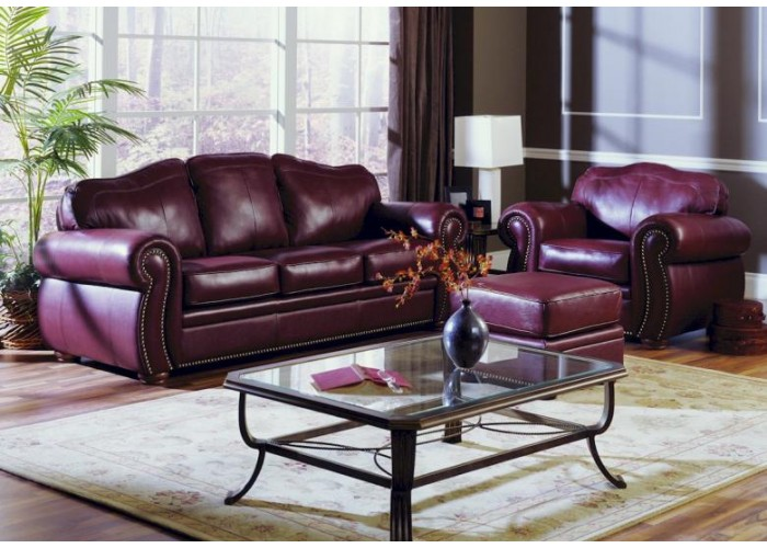 Bison Leather Sofa Amp Set