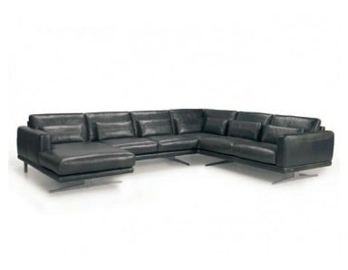 Airopeli Leather Sectional