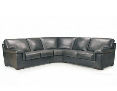 Lombardi Leather Sectional