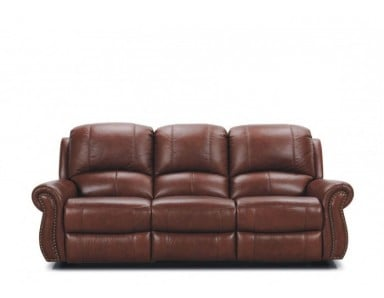 Luciano Leather Reclining Sofa & Set