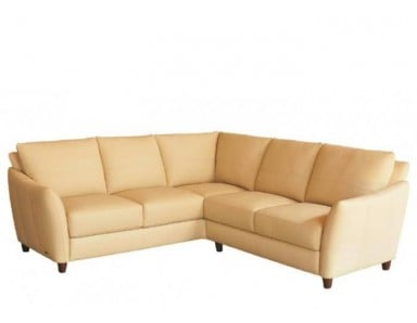 Modena Leather Sectional