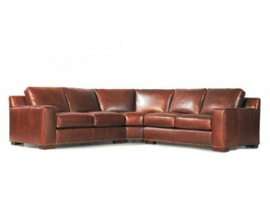 Sicily Leather Sectional