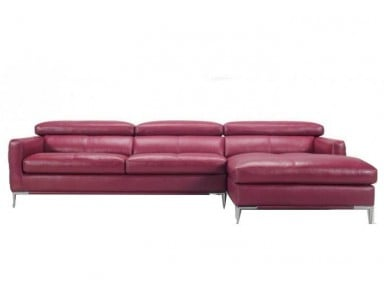 Torello Leather Sectional | Adjustable Headrest