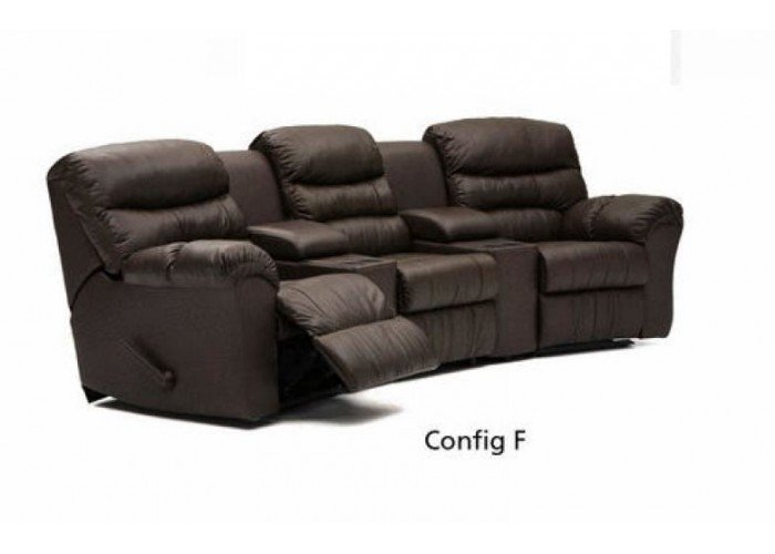 Westbrook Leather Reclining Sectional