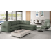 Durham Leather Sectional & Sofa Set
