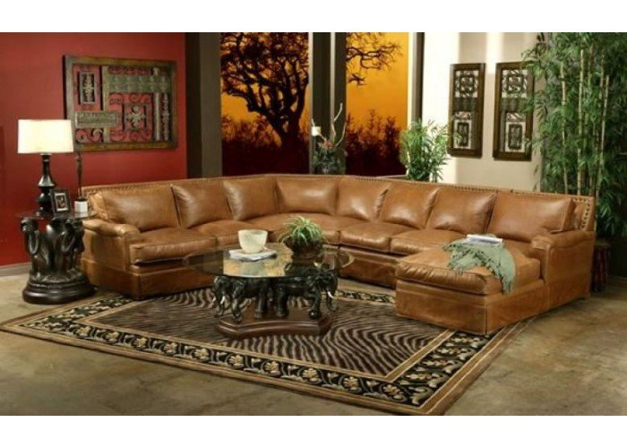 Omnia Hacienda Leather Sofa Amp Sectional