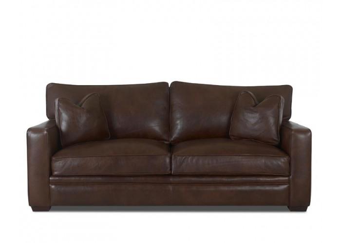 Hearth Leather Sofa Set