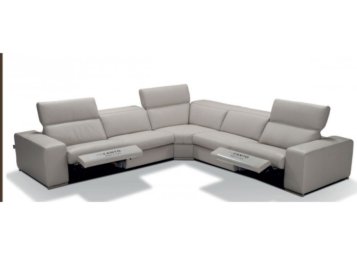 Incanto I775 Leather Power Reclining Sectional With