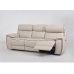 Lobelia Leather Power Sofa With Adjustable Power Headrest (Contrast Stitch Not Available)
